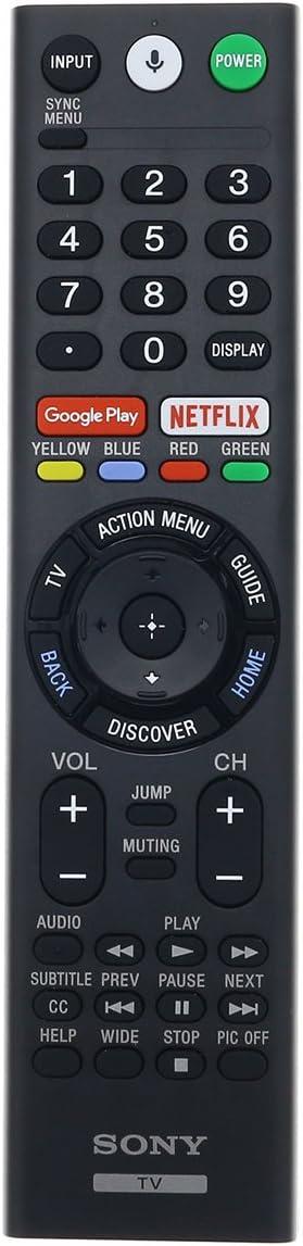 RMF-TX600U Sony Genuine OEM LED Smart TV Remote Control