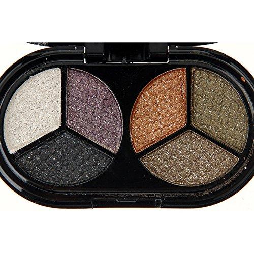 Shouhengda Glitter Eyeshadow Nude Eyeshadow Palette Makeup Matte Eye Shadow A04
