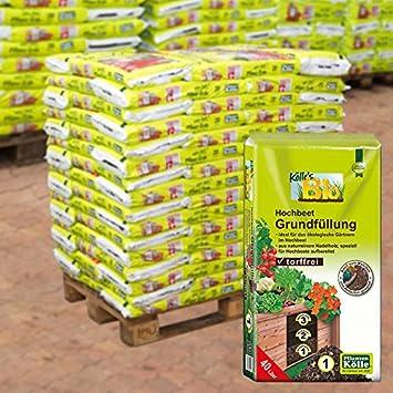 Kolle Bio Hochbeet Grundfullung 45 Sack A 40 L Palettenware Ohne