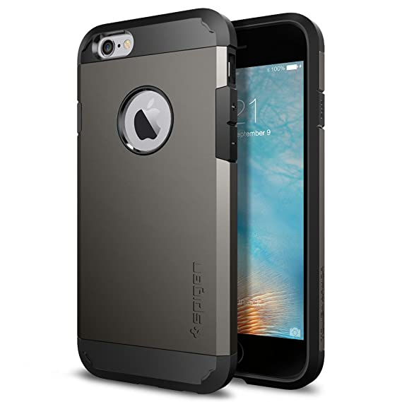 cd9875fb53 Image Unavailable. Image not available for. Color: Spigen Tough Armor  Designed for Apple iPhone 6S ...