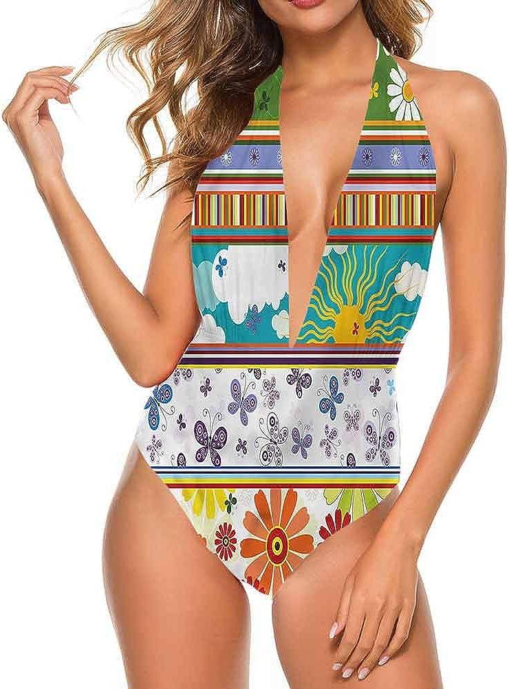Adorise Superbe maillot de bain pour l\'été, maison d\'été Multi 16