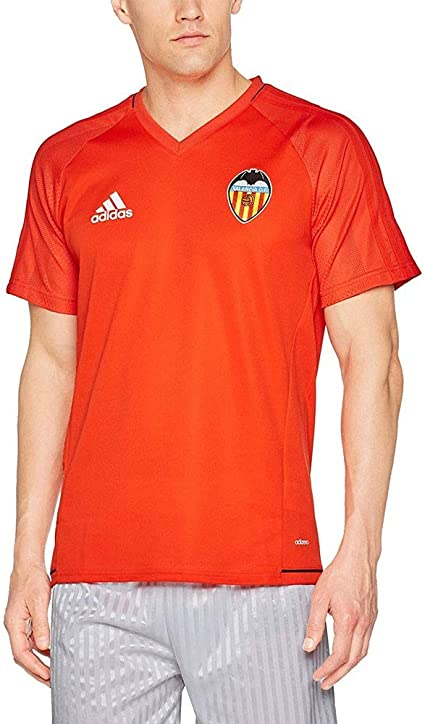 adidas Vcf TRG JSY - Camiseta Línea Valencia C.F Hombre: Amazon.es: Ropa y accesorios