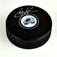 $83 » Cale Makar Colorado Avalanche Signed Autograph Model Hockey Puck - Autographed NHL Pucks