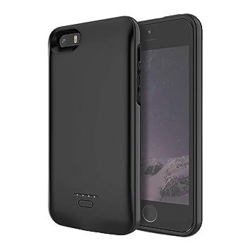 HiKiNS Funda Batería para iPhone 5S/5C/SE/5, 4000mAh Externa ...