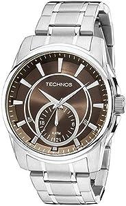 Relógio Technos Classic GrandTech Analógico Masculino 6P28AB/1M