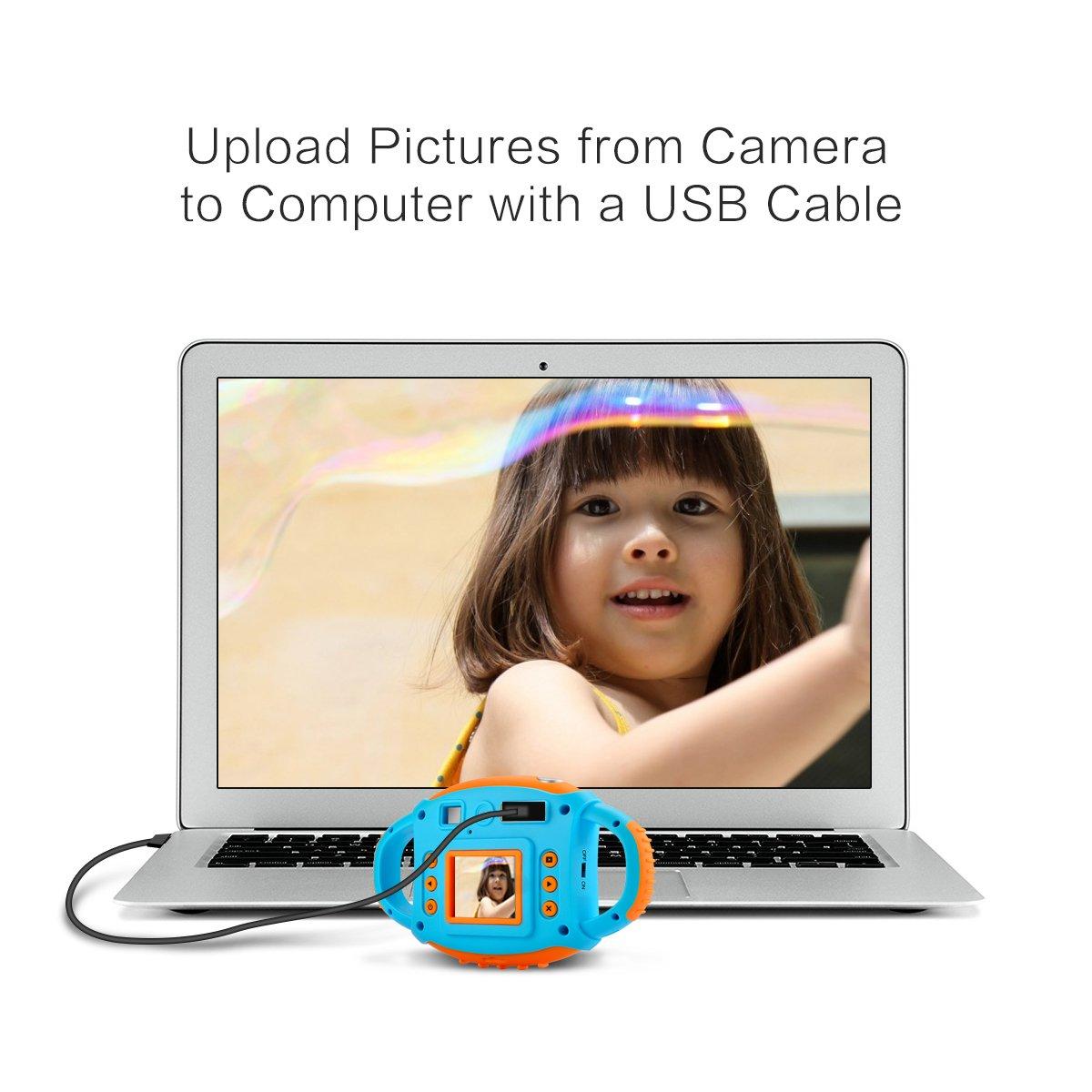 Kids Camera Digital Camera for Kids Digital Video Camera 1.77 HD Color Screen 5 MP Beautiful Camera for Kids by LongOu (Image #5)