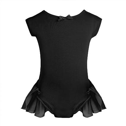 706bc600e Amazon.com   iiniim Girls Cap Sleeve Gymnastic Ballet Dance Leotard ...