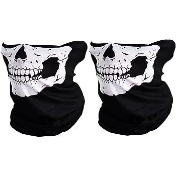Amazon.com: CIKIShield Couples Seamless Skull Face Tube