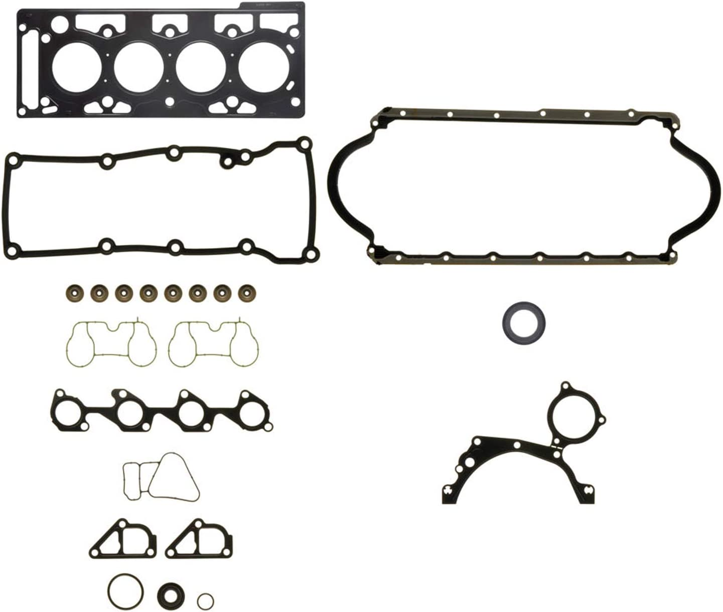 Replacement Parts Automotive Ajusa 50236200 Full Gasket Set engine ...
