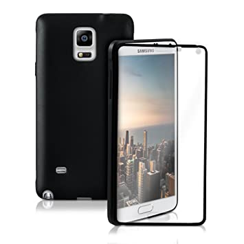 kwmobile Pratique et Robuste Protection Full Body de TPU Silicone pour Le Samsung  Galaxy Note 4 a129ec45aa1d