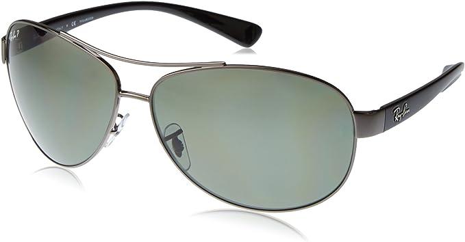 Ray-Ban rb3386_004/9A_63 - Gafas de sol para hombre, gris, 63 ...