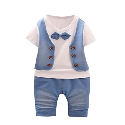 PAOLIAN One Pieces Monos Ropa para Niños Recien Nacidos Conjuntos Ropa para  Niños Babe para Verano 15d2bd1a488
