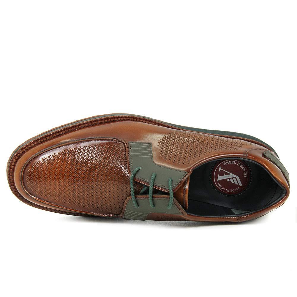 Ángel Infantes - Blucher - Cordones - Piel Florenti - Cuero - 42: Amazon.es: Zapatos y complementos