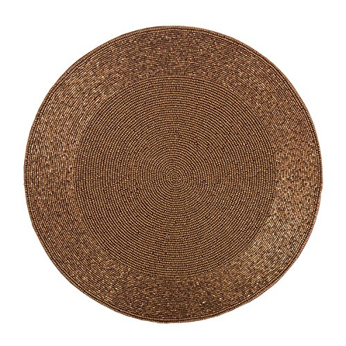 C&F Home Hand Beaded Red Copper 15