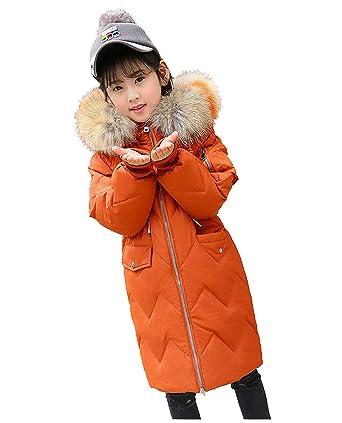 dc2dcca806694 Enfant Doudoune Manteau d hiver Vêtements d extérieur Fille Parka Veste à  Capuche Epaisse