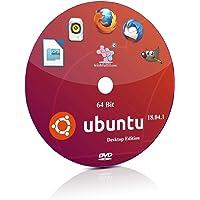 Ubuntu 18.04.1 GNOME 64 Bit Live Bootable Installation DVD