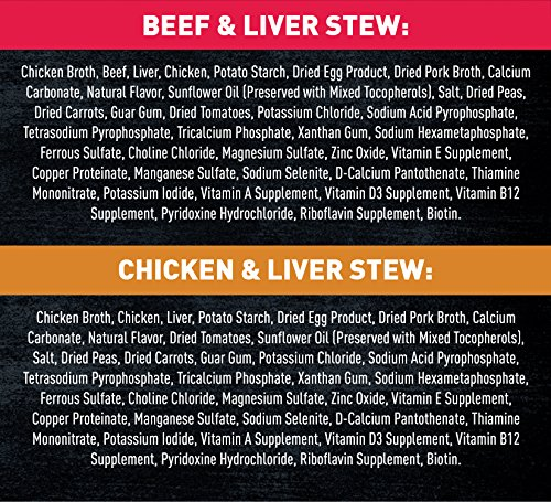 Nutro Wild Frontier Vital Prey Wet Dog Food Stews Variety Pack: Chicken & Liver Stew, Beef & Liver Stew, 12.5 Ounce Cans, Pack of 12 by Nutro (Image #5)