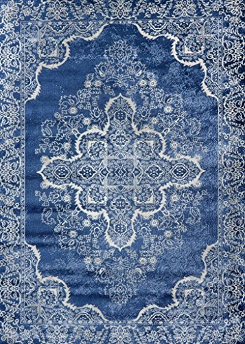 Amazon Com Persian Rugs 5529 Blue Oriental 8x10 Area Rug
