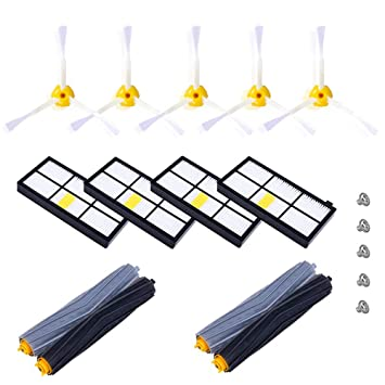 Fusutonus - Kit de Accesorios para iRobot Roomba Serie 800 ...