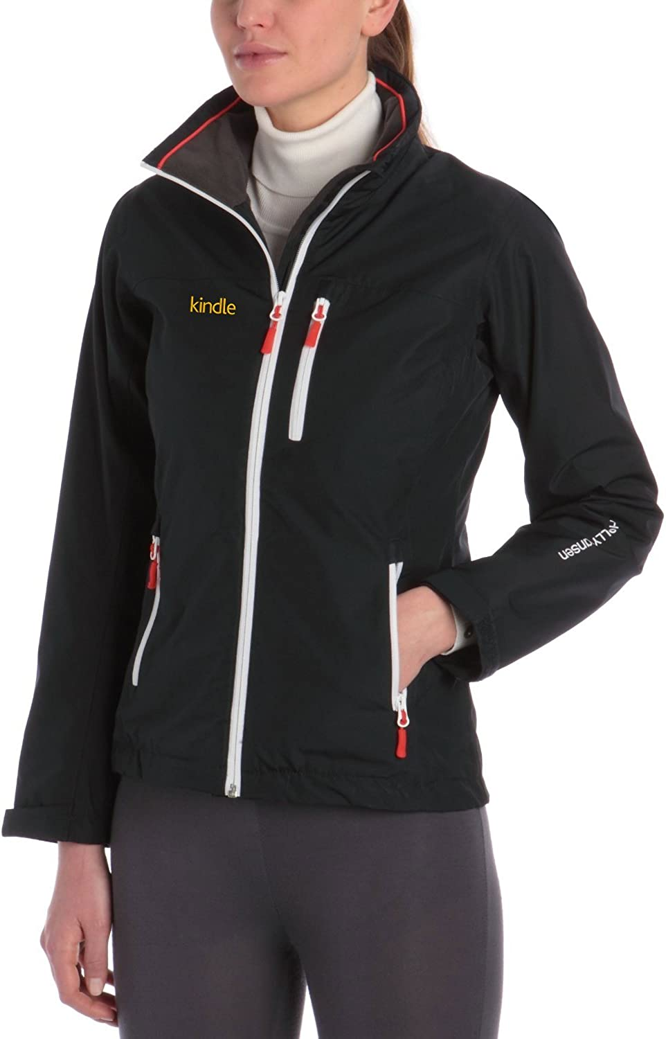 Gear Helly Hansen Women's Crew Mid Layer Jacket, Navy, X-Large: Clothing