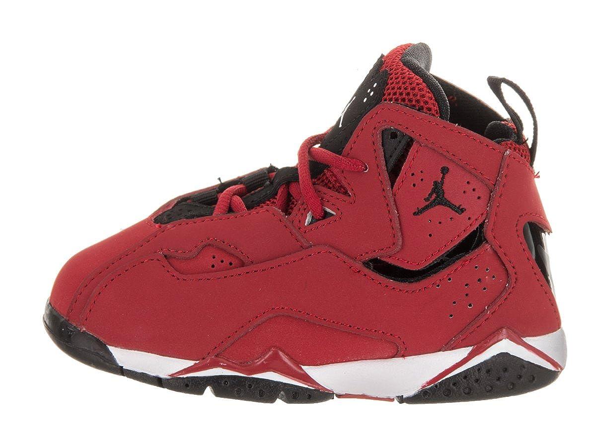 best service 93b37 999a5 Amazon.com   Nike Jordan Toddlers Jordan True Flight Bt Gym Red Black White  Black Basketball Shoe 9 Infants US   Sneakers