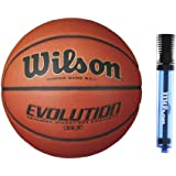 Wilson 28.5-Inch Evolution Intermediate Game Ball Basketball with 6