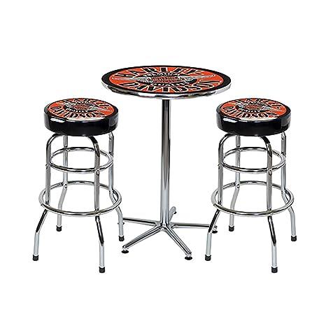 Strange Amazon Com Harley Davidson Winged Bar And Shield Cafe Table Uwap Interior Chair Design Uwaporg