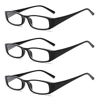716919bf86f SUERTREE Fashion Reading Glasses Women Men Spring Hinge Anti Glare Comfort  Computer Glasses BM801 (2.0