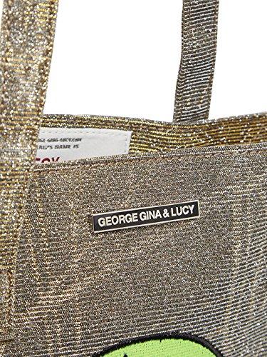 George Gina & Lucy, Borsa tote donna oro gold