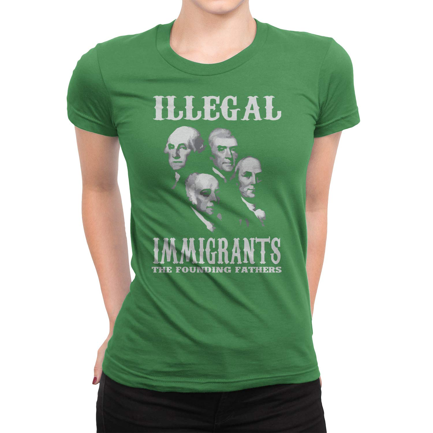 Illegal Immigrants The Founding Fathers Shirt Immigrant Merica United State Pride Tshirt T-Shirt
