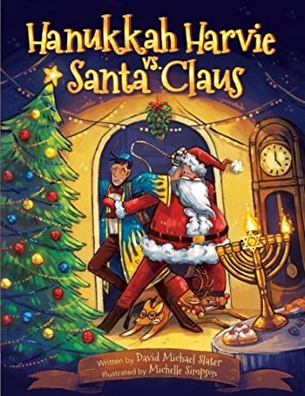 Hanukkah Harvie vs. Santa Claus