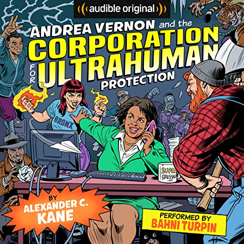 Andrea Vernon and the Corporation for UltraHuman Protection cover