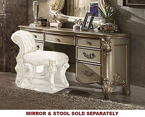 Acme Furniture ACME Vendome Gold Patina Vanity - Vanity French