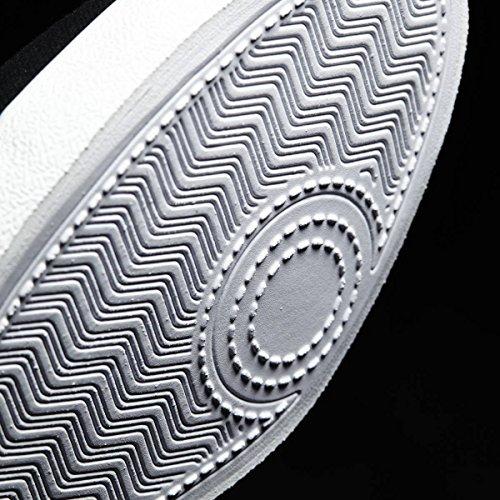 Adidas Cloudfoam Qt Vulc W, Scarpe da Ginnastica Donna, Nero (Negbas/Negbas/Grpudg), 37 EU