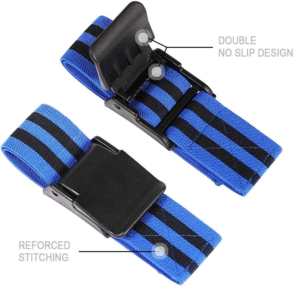 TAVIEW Occlusion Training Bands,Arms Legs Muscle Straps for Blood Flow Restriction Training,Strong Elastic Biceps Thigh Straps for Gain Fast Muscle Growth