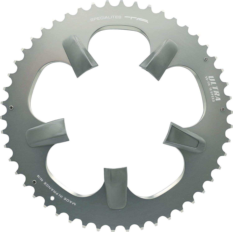 TA Fahrrad Kettenblatt Ultra 52 Zähne grau 110mm Lochkreis