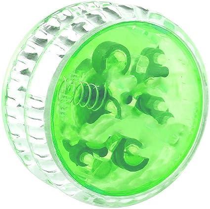 Light up YoYo Ball Plastics Professional YoYo Ball Bearing String Trick LED Toy