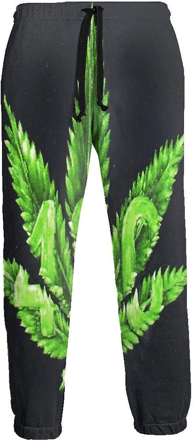 LDDDP - Pantalones de chándal para Hombre, Cintura elástica ...