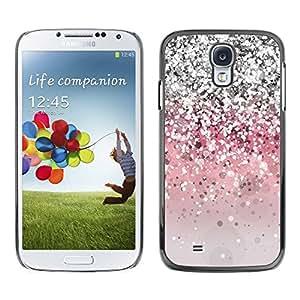 All Phone Most Case / Hard PC Metal piece Shell Slim Cover Protective Case Carcasa Funda Caso de protección para Samsung Galaxy S4 I9500 Silver Pink Grey Shiny Bling