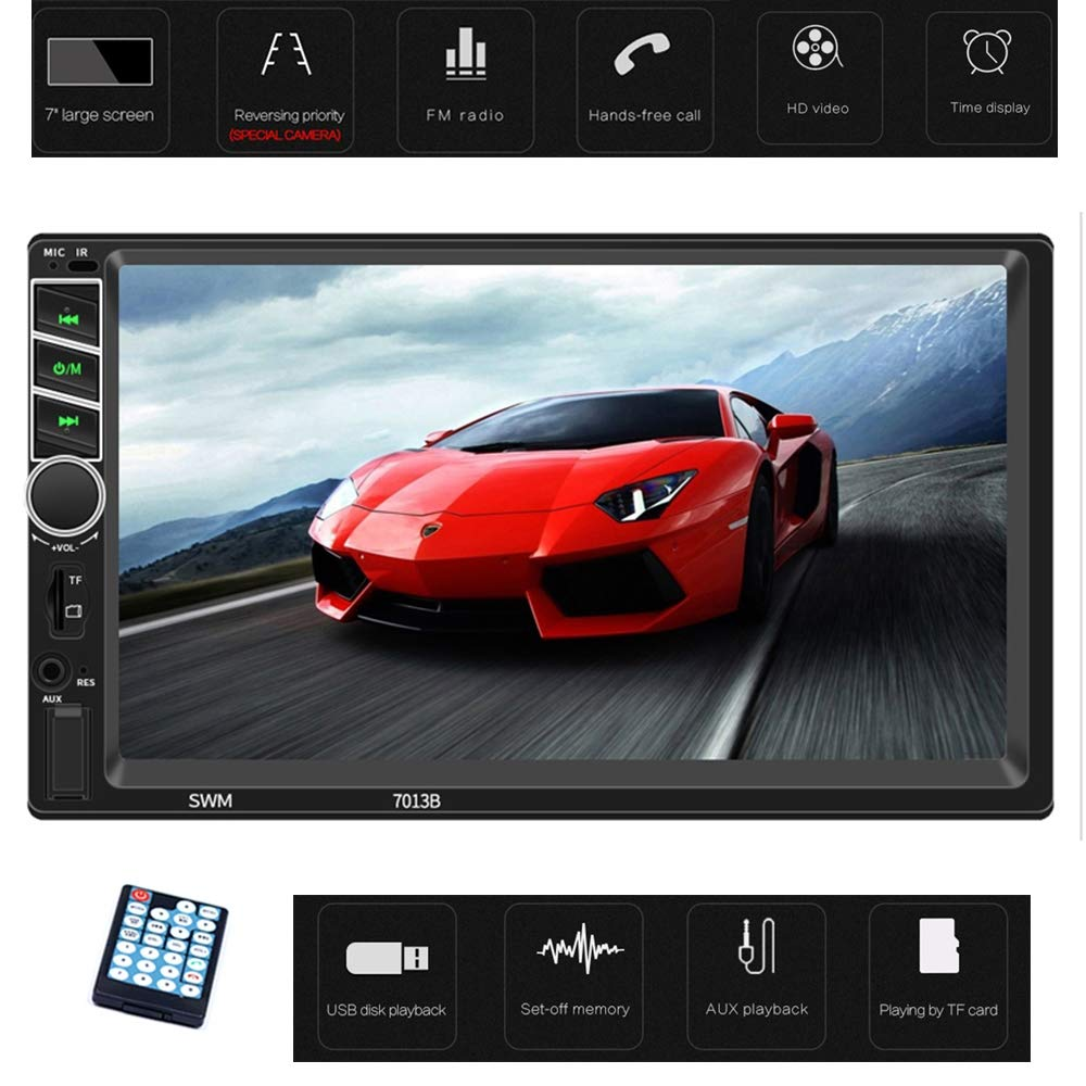 Amazon.com: Mengen88 Car MP5 Player, 7-Inch Touch HD Large ...
