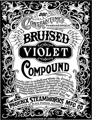 Bruised Violet Compound Perfume Oil Blend, Health Care Stuffs