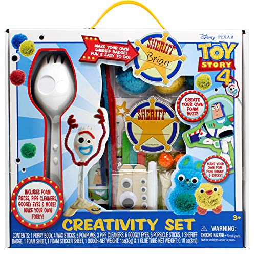 Disney Toy Story 4 Forky Creativity Set]()
