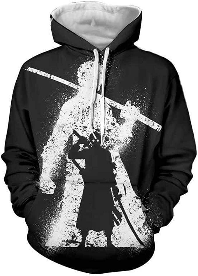 M, Black Lmtime 2018 Newest Sweatshirt Mens Mask Skull Hoodies Pure Color Pullover Long Sleeve Hooded Tops