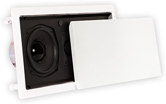 """Pyle PDIWCS56 In-Wall In-Ceiling Dual 5.25/"""" Single Center Channel Sound System"""