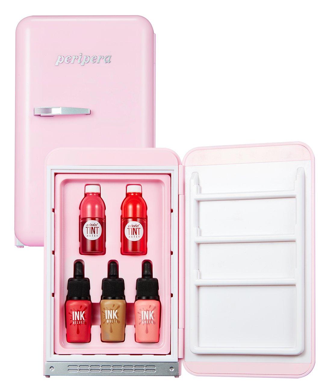Peripera Mini Mini Make up Kit Fridge Set PINK