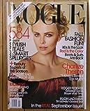 Vogue September 2009 Charlize Theron Roger Federer Hugh Jackman