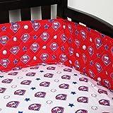 MLB Philadelphia Phillies Crib Bumper Baseball Baby Bedding