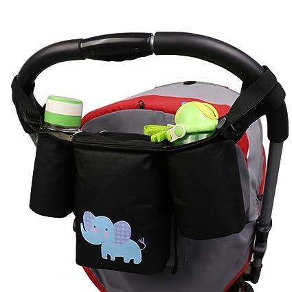welkey bolso organizador para cochecito de bebé, con soporte ...