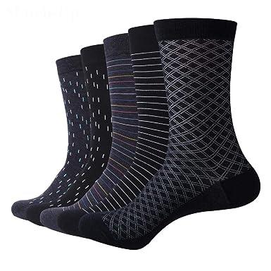 Mens Socks Color Cotton For Business Dress Casual Funny Long Socks