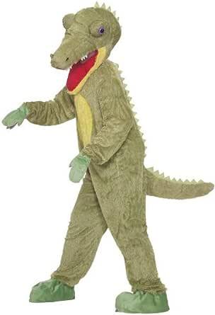 Forum Novelties Men's What A Croc Plush Crocodile Mascot Costume